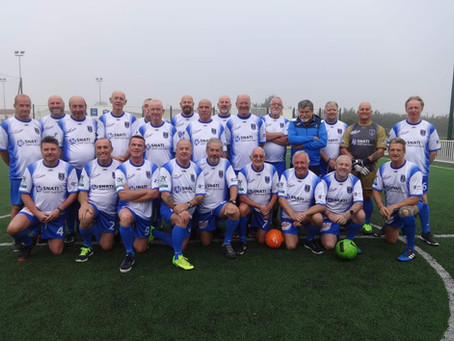 Aulnay FC's Walking Football Team