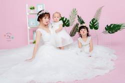 《網美系模特風》京華獨家親子手工系列d