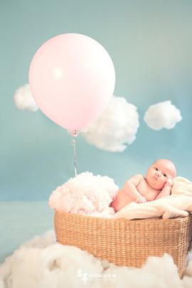 JH京華創意兒童寫真主題會館 l 新生兒寫真