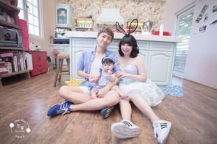 JH京華創意兒童寫真主題會館 l 全家福寫真