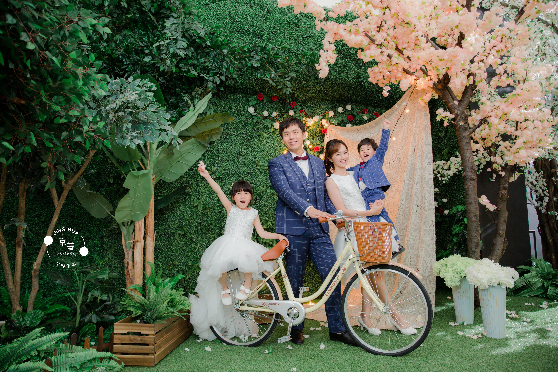 《格紋x俏皮甜心風》京華獨家親子手工系列