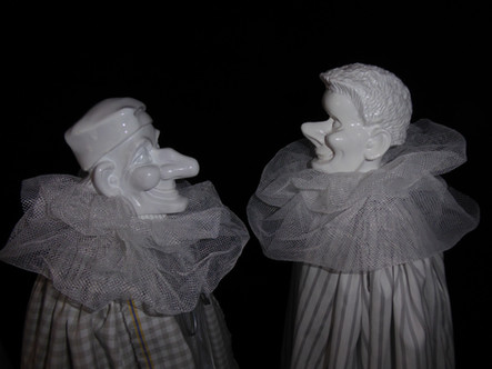 """From Group of Works """"Handpuppen"""", (Hand Puppets)"""