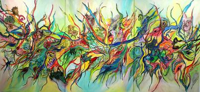 Mystique (Triptychon)