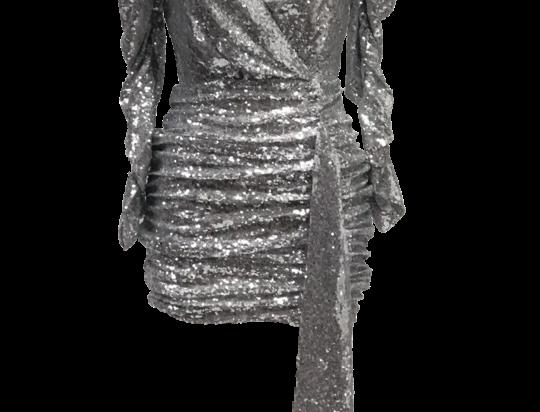 GLOW SILVER DRESS