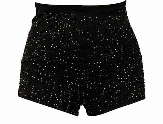 EMBROIDERY HOT PANTS