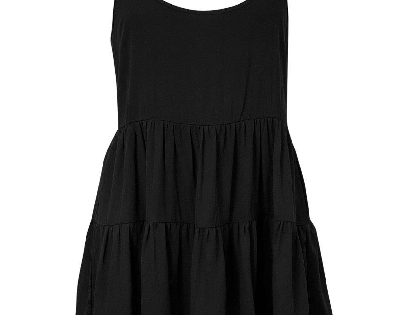 BLACK MALDIVA DRESS