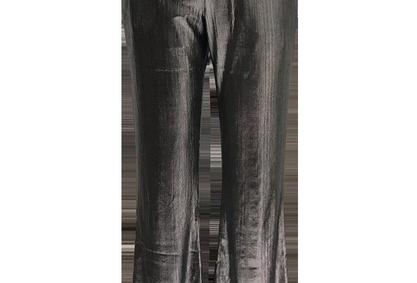 SILVER DISCO PANTS