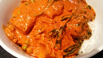 Butter chicken is best cooked slow