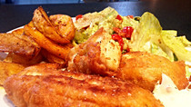 Fish n Chips home style