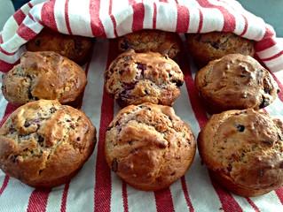 Choc Berry Muffins