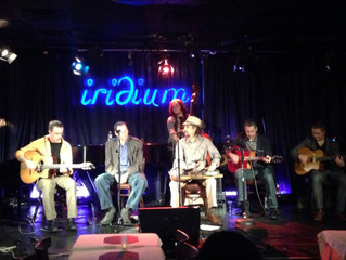With David Langlois at Iridium