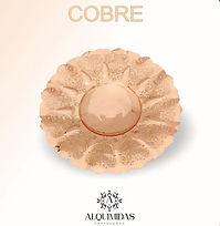 fruteira banhada em cobre pela alquimidas prateações