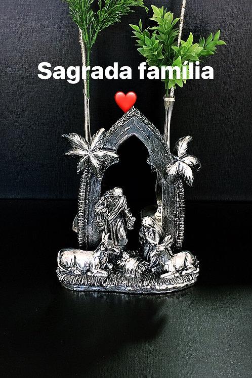 Sagrada Família em prata 90