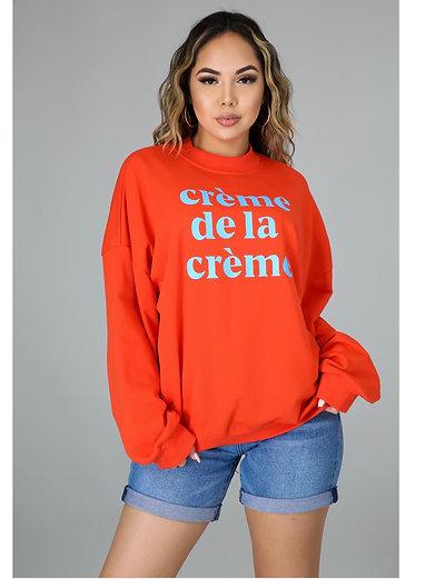 Crème de la Crème sweater