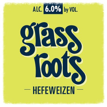Grass Roots Lemon-Lime Hefeweizen 1/2 BBL Keg