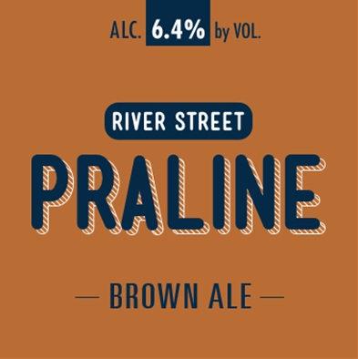 River Street Praline Brown Ale 1/6 BBL Keg