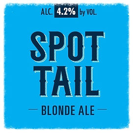 A simple beer, Spot Tail Blonde Ale is handcrafted with discovery drinkers in mind. With more body and flavor than standard Lite Beers, Spot Tail is a Craft beer that can be enjoyed by anyone on those perfect Summer days.