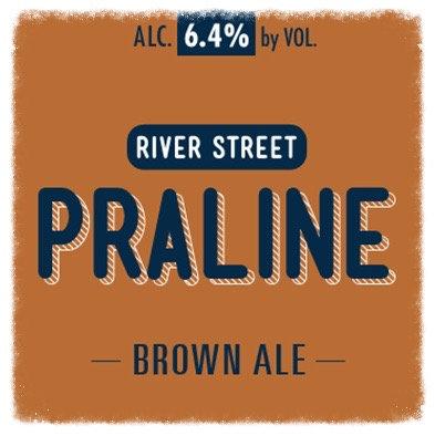 River Street Praline Brown Ale 1/2 BBL Keg