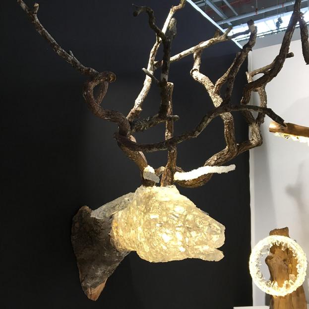 Deer, left side