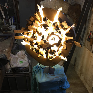 Explosion in the workshop