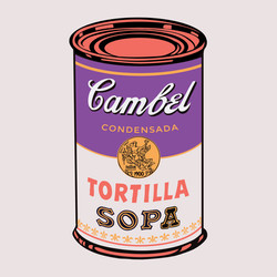 """""""PURPLE AND PINK TORTILLA"""""""