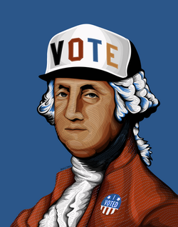 """GEORGE VOTED"""