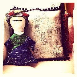 Icons, decorative pillows