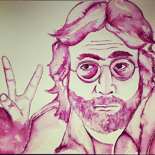 """Original Ink Drawing """"John"""""""