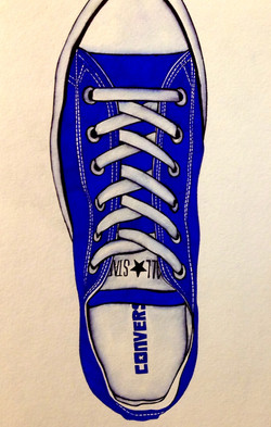 """""""Laxed Sole"""", $125"""