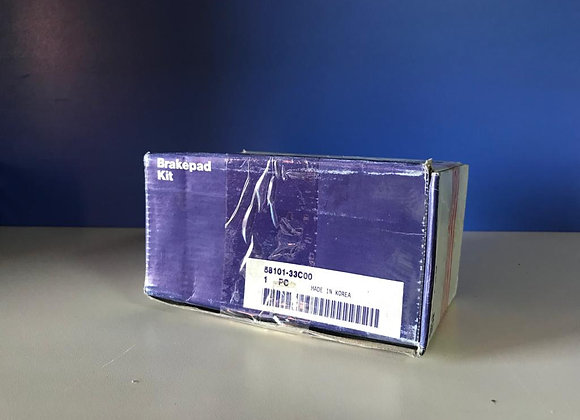 Колодки тормозные передние Hyundai 58101-33C00