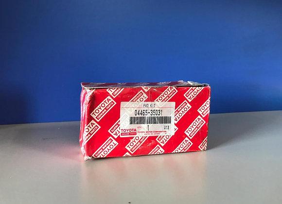 Колодки тормозные передние Toyota 04465-35031