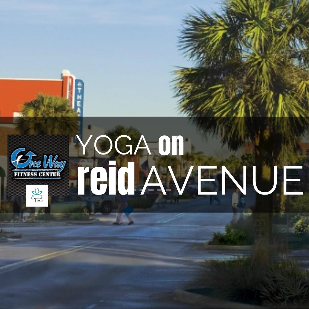 Yoga on Reid Avenue
