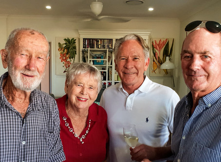 Toowong Tennis Old Dogs is much more than just exercise