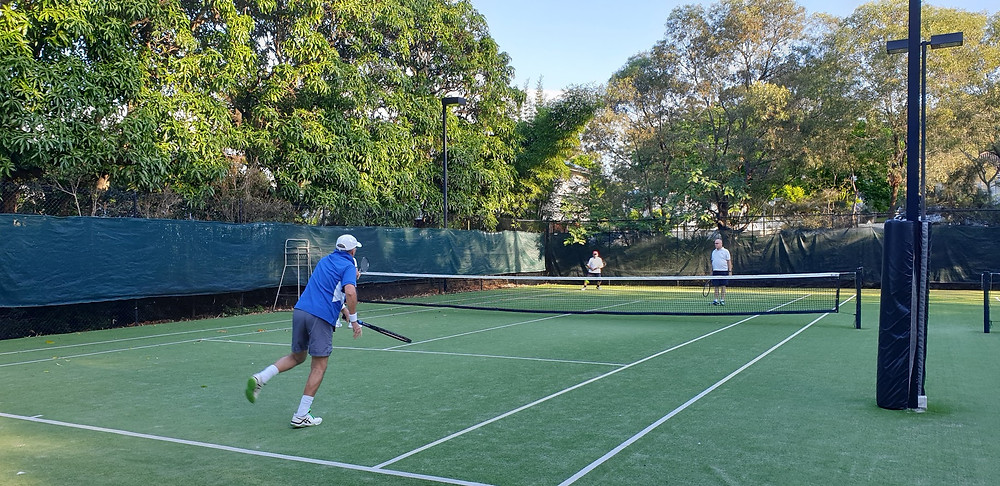 Toowong Tennis Old Dogs