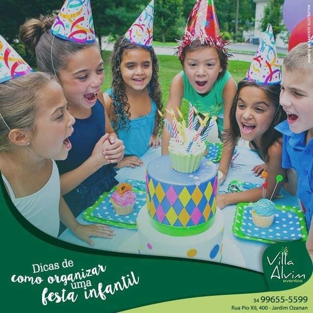 Organizar uma festa infantil não é uma t