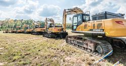 sany-excavator-lineup