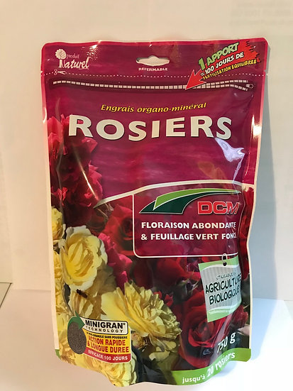 Engrais organiques Rosier