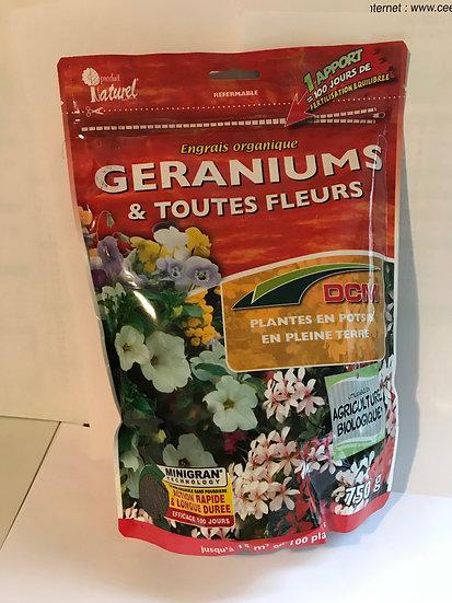 Engrais organique plantes fleuries