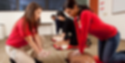 Group CPR class in Orlando