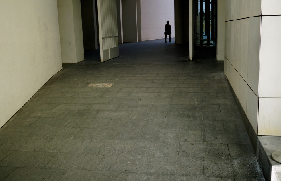 German Expressionist Doorway