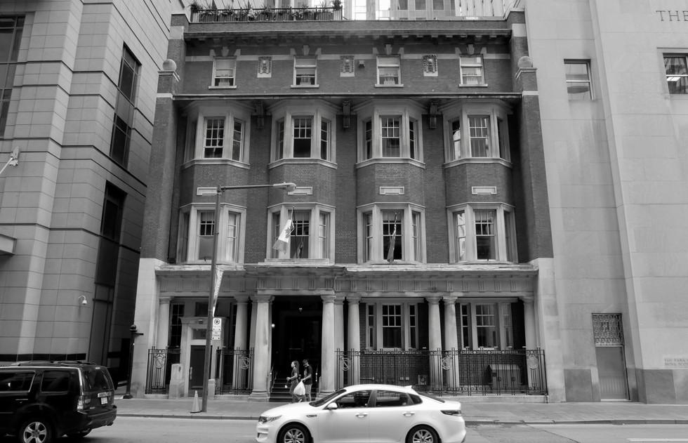Nestled Building
