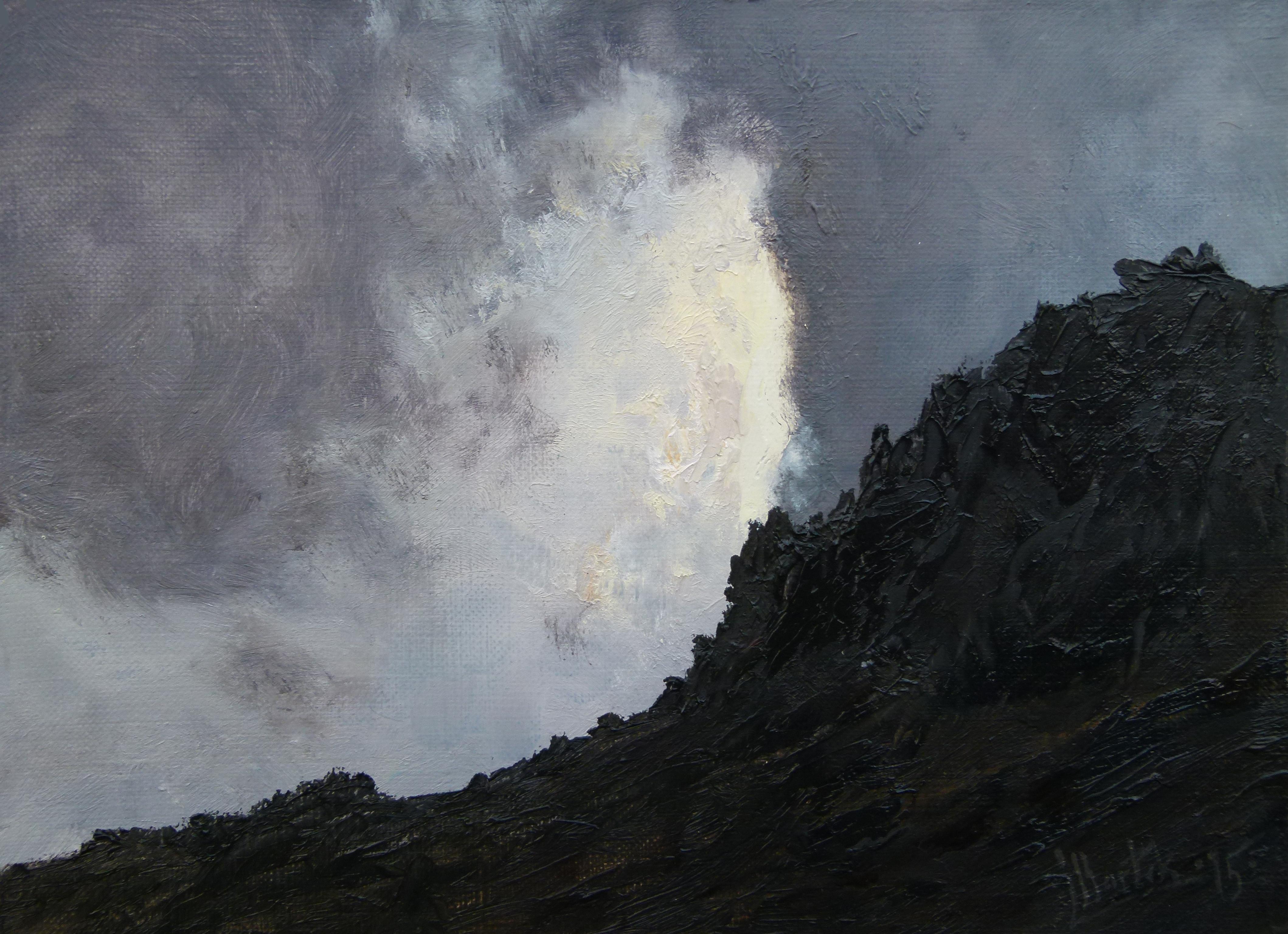 Rocky Slope (18x24 cm)