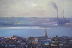 Across Dublin Bay (100x150)