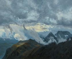 Widok z Franz-Josefs-Höhe (50 x 61cm)