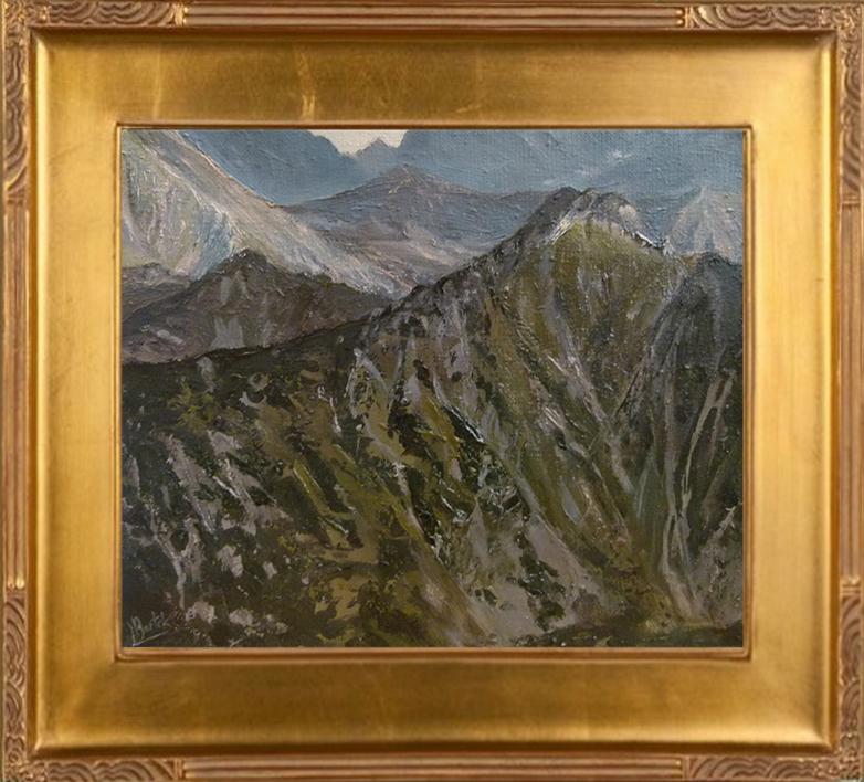Szczyty Tatr Zachodnich (25x30)