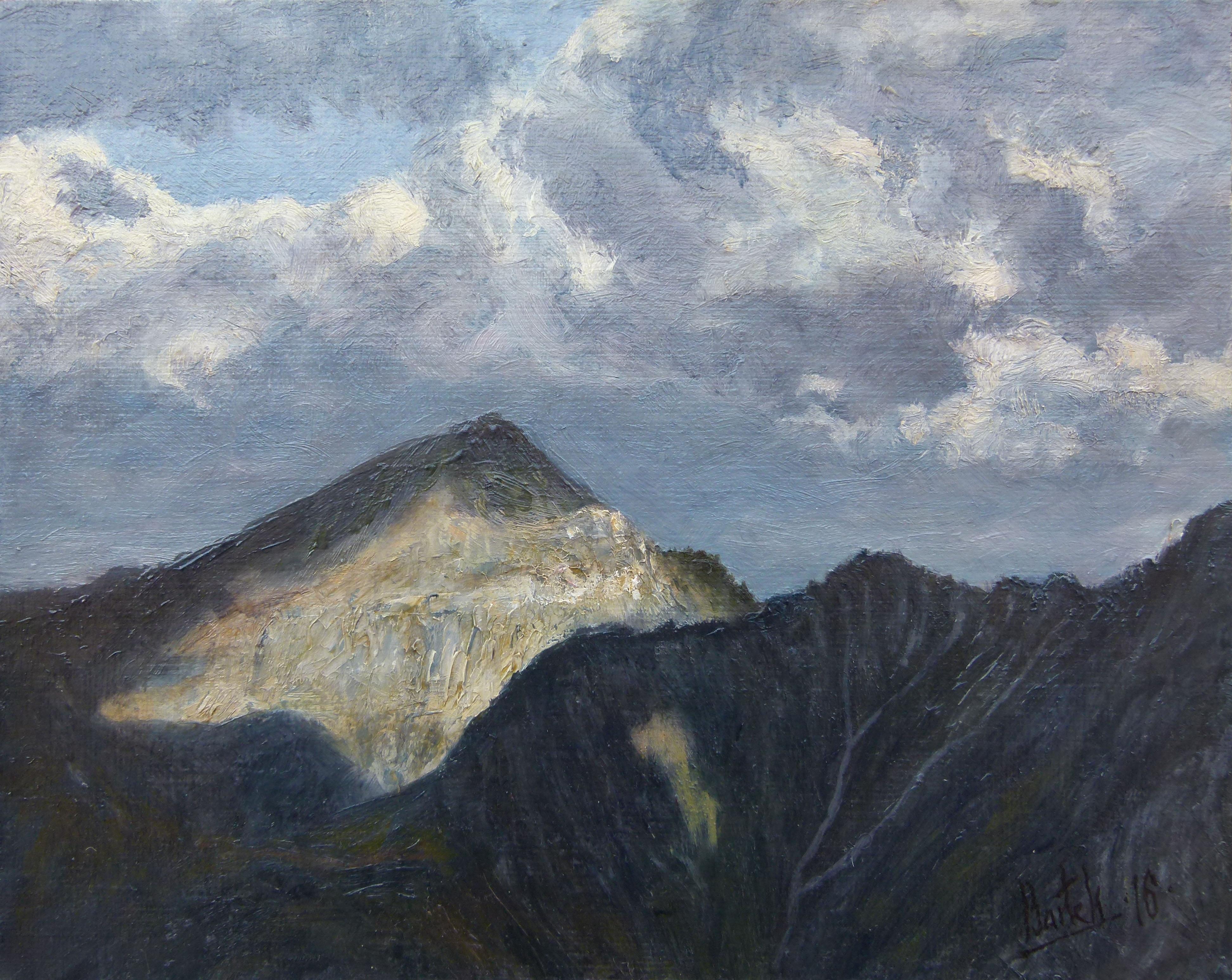 Alpine Landscape (24x30 cm)