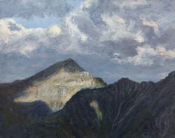 Pejzaż alpejski (24x30 cm)