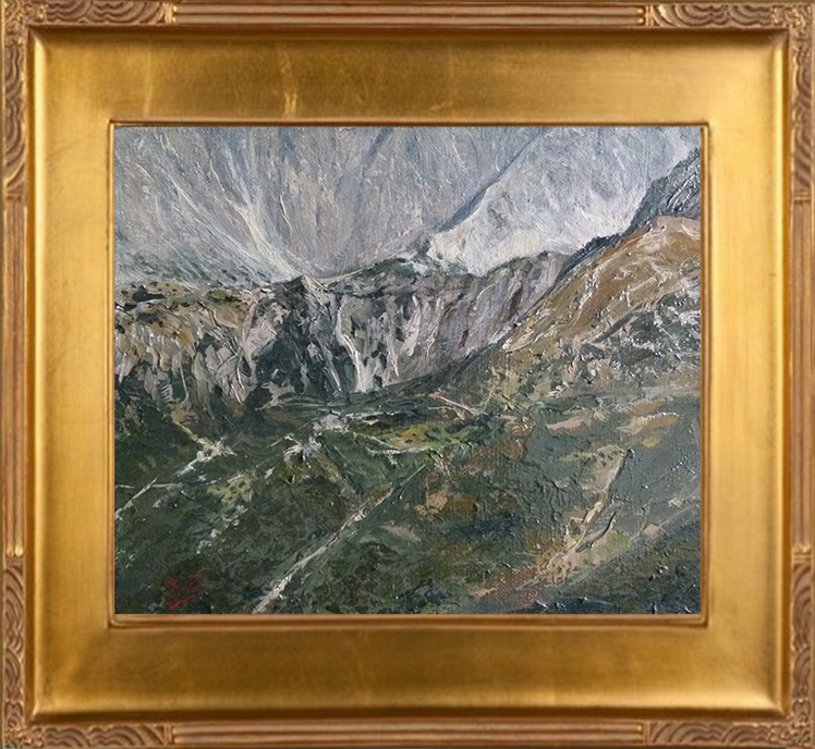 Widok na Tatry Zachodnie (25x30)