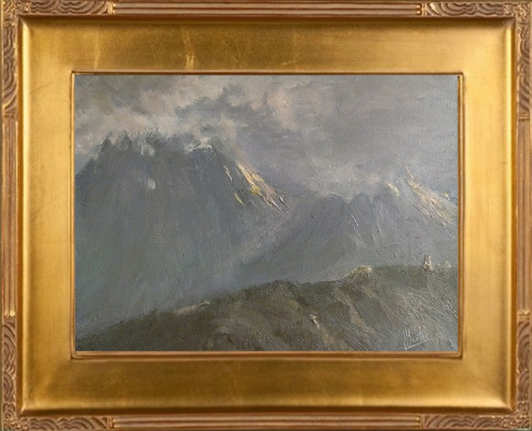 Giewont i Mały Giewont (24x33)