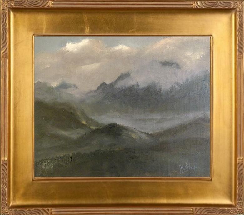 Widok z Głodówki (24x30)